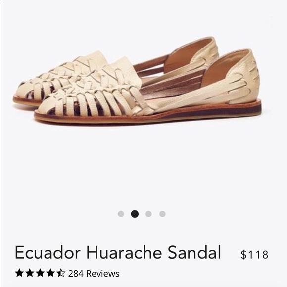 709fa4efd180 Nisolo Ecuador Huarache Sandal